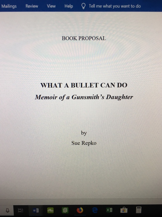Proposal Front Page